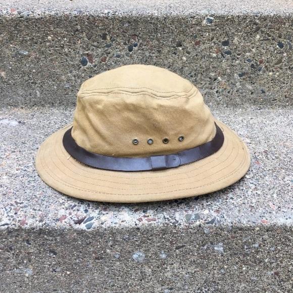 8ff978367 Filson Tin Cloth Packer Cap Hat Large